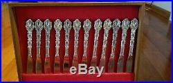 91 Pc Oneida Community Chandelier Stainless Steel Flatware Set Betty Crocker