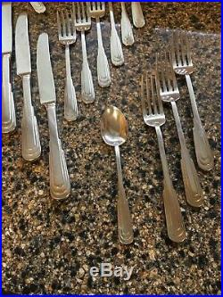CITYSCAPE ONEIDA Stainless Large Lot! Forks, Salads, Spoons, Knives