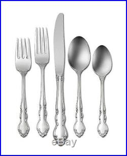 DOVER shiny 40pc piece set Service for 8 Oneida Flatware NEW place setting