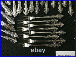 Excellent! 72 Pcs! Oneida Northland Stainless Baton Rouge Serves 8 withExtra T's