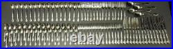 FLATWARE 95pc lot SSS by Oneida Lakewood/Tuxedo stainless service for 15 +extras
