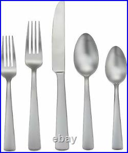 Flatware Set 65 Piece Silverware Cutlery Set Stainless Steel Service for 12 New
