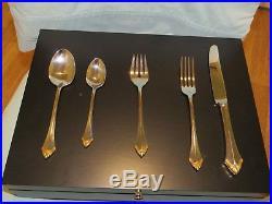 GOLDEN KENWOOD Oneida Community 5pc flatware, 8 place setting, NEW in box
