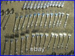 Huge 102 Pc ONEIDA Stainless Steel BRAHMS Flatware Set GREAT Condition