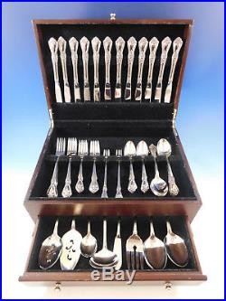 Kennett Square by Oneida Stainless Steel Flatware Service for 12 Set 83 pcs