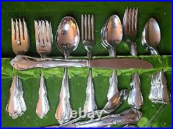 LOT 74 Pcs Oneida CHATEAU Service for 11 Plus Oneidacraft Deluxe Stainless USA