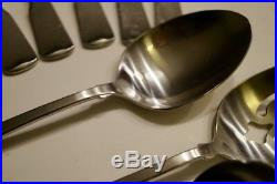 Lot Of 21 Pcs. Oneida American Colonial Cube Stainless Flatware