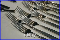 Lot Of 38 Pcs. Oneida USA Easton Stainless Flatware
