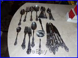 MICHELANGELO 48pc set Service for 8 Oneida Flatware Incl Servers place settings