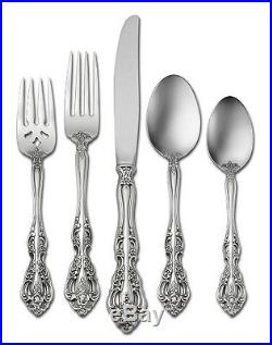 MICHELANGELO 65 piece set Service for 12 Oneida Stainless Flatware Incl 5 servs