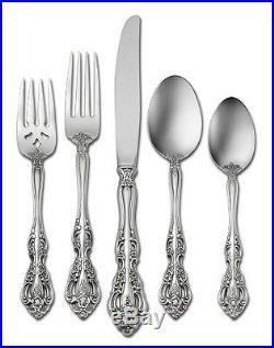 MICHELANGELO 66 piece set Service for 12 Oneida Flatware + 12 ice tea spoons