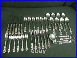 MICHELANGELO Oneida Cube & USA Stainless 36 Pc. Flatware Set for 6 with Serving
