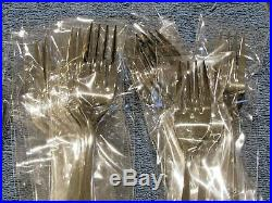 NEW 118 Pc. Oneida MY ROSE Stainless Flatware Set Complete Service for 12