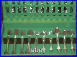 NEW NOS 64 Pc Oneida Community CELLO Stainless Flatware Betty Crocker Never Used