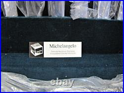 NEW Oneida Michelangelo Stainless Steel Flatware Set for 12