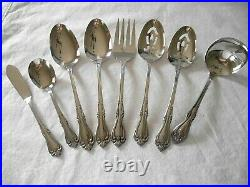 NOS ONEIDA ALL AMERICAN BRIARWOOD 80 PC. STAINLESS FLATWARE SET Service for 12