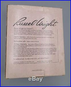 New In Box Russel Wright Pinch by Oneida Stainless Flatware Set for 4 20 Pcs