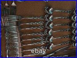 ONEIDA COMMUNITY CHANDELIER Stainless Silverware 60 pieces good condition