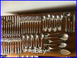 ONEIDA Community Brahms Stainless NEW 55 Pieces 9 Place Sets + 10Pcs Serving Set