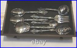 ONEIDA Cube Heirloom MICHELANGELO Stainless 97 Pcs Flatware USA Lot Mint in Case