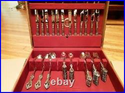 ONEIDA Cube Heirloom MICHELANGELO Stainless Flatware 94 Pieces USA 12 Settings