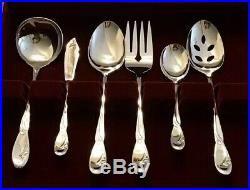 ONEIDA DELUXE Stainless CALLA LILY SET OF 46 Service For 8 MINT Fork Spoon Knife