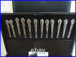 ONEIDA HH Distinction Deluxe Stainless Steel Flatware RAPHAEL 107 Pcs Chest Box