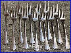 ONEIDA Patrick Henry community stainless flatware 69 pieces