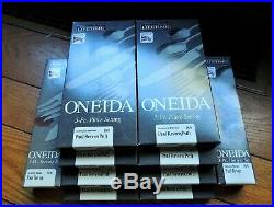 ONEIDA Paul Revere Stainless Service for 8 + 2 Serving Sets (46 pieces total)