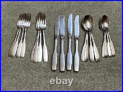 ONEIDA Paul Revere community stainless flatware 20 pieces
