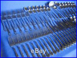 ONEIDA ROYAL CHIPPENDALECOMMUNITY STAINLESS STEEL FLATWARE SERVICE85 pcSET 12