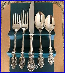 ONEIDA Stainless 18/8 Renoir-Pembrooke 40 Piece Service for 8 NEW