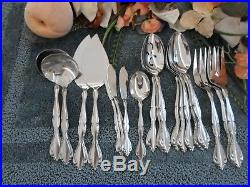 Oneida 18/8 USA Community Stainless CANTATA 20pc Serving Lot Excellent