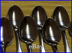 Oneida 1881 Rogers Twilight stainless flatware Set of 60 pieces
