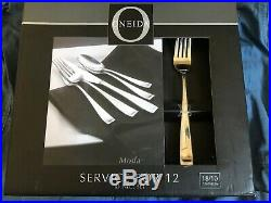 Oneida 65 Piece Service for 12 Flatware Set 18/10 Stainless