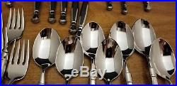 Oneida ACT 1 I Glossy Stainless Flatware 25 pcs Cube Mark Most Unused