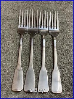 Oneida American Colonial Stainless Cube flatware 20 pieces
