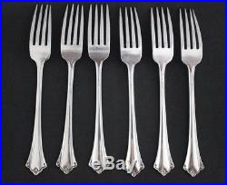 Oneida Anticipation Stainless Flatware Dinner Fork Set Of 6 Very Clean