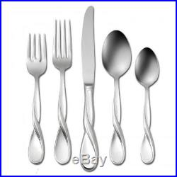 Oneida Aquarius 65 Piece Fine Flatware Set, Service for 12