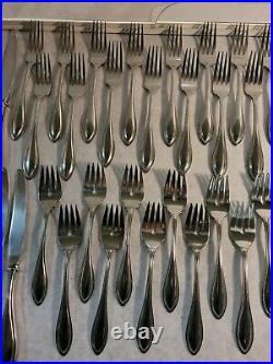 Oneida Arbor American Harmony 74 Pc Flatware/Silverware Stainless