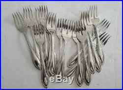 Oneida Arbor American Harmony Stainless Steel Flatware 69 Piece Mixed Lot