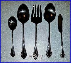 Oneida BANCROFT Stainless Flatware 42 PIECES Serving For 8. Open Box