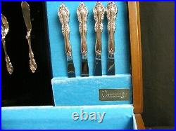 Oneida BRAHMS Community Stainless Flatware 52 pc Set 8 Service with Nice Case