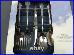 Oneida Bancroft 20 Pieces Service for 4 Stainless Flatware New Old Stock