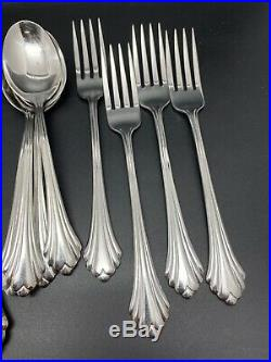 Oneida Bancroft Stainless USA Flatware 20 pieces Service for Four (RF82)