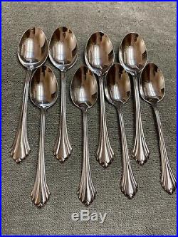 Oneida Bancroft Stainless steel Flatware 20 pieces