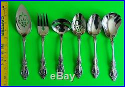 Oneida Brahms Community Stainless 12 Place Settings & 6 Serving 83 Pieces
