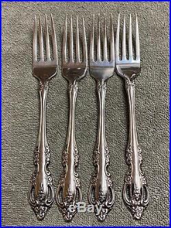 Oneida Brahms Community Stainless flatware 20 pieces
