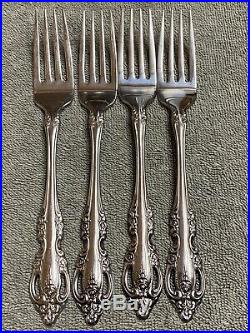 Oneida Brahms Community Stainless flatware 28 pieces