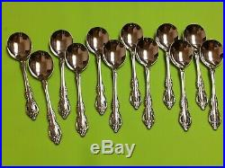 Oneida Brahms community stainless USA flatware set of 138 pieces